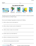 WEATHER, LAND FEATURES REVIEW (SPANISH 2016 EDITION)