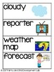 WEATHER STATION Dramatic Play Center