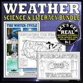WEATHER Science and Literacy Bundle