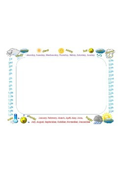 WEATHER THEME FRAME - DAILY WEATHER