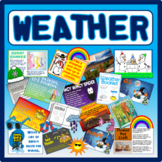 WEATHER TOPIC- DISPLAY ACTIVITIES SEASONS SCIENCE