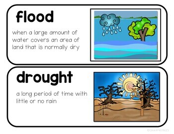 WEATHER SEASONS and CLIMATE Activities and Lessons Bundle