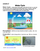 WEATHER Unit Plan (Hands-On, Inquiry, Experiments, Assess, Foldables, WebQuest)