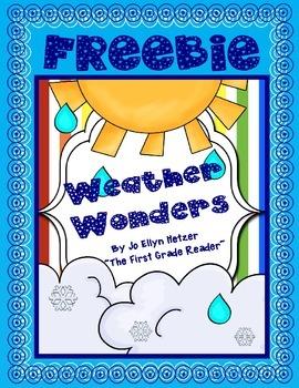 WEATHER WONDERS ~ FREEBIE