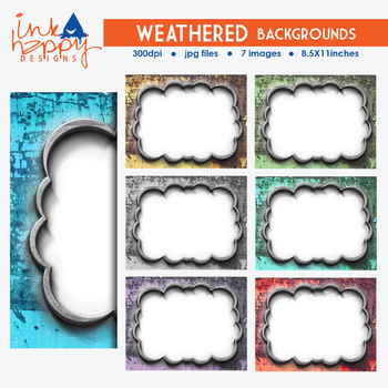 WEATHERED Backgrounds | clipart