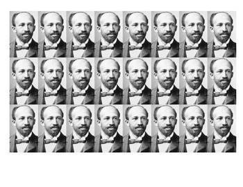 W.E.B. Du Bois Historical Stick Figure (Mini-biography)