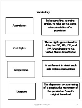 W.E.B. DuBois. A Lesson Plan Packet with Literacy Activities