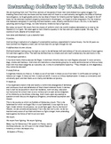 "W.E.B. DuBois ""Returning Soldiers"" from World War I Reading & Questions"
