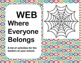 WEB, Where Everyone Belongs- Lesson Plan for a Social Group. Lunch Bunch