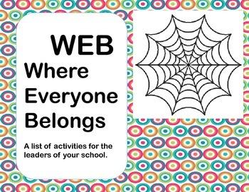 WEB, Where Everyone Belongs- Lesson Plan for a Social Grou