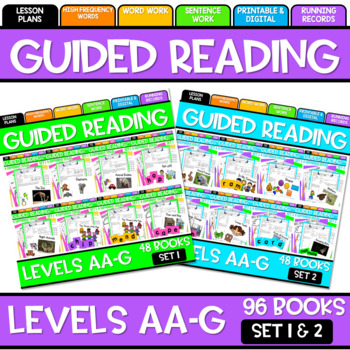 GUIDED READING BUNDLE SET ONE and SET TWO