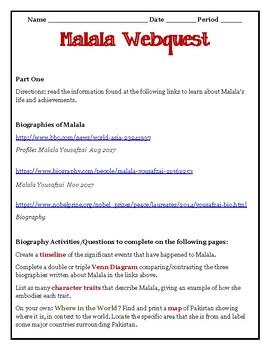 WEBQUEST: MALALA