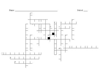 WED Crossword Puzzle