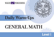 Daily Warm-Ups: General Math (Level I)