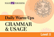 Daily Warm-Ups: Grammar & Usage, (Level II)
