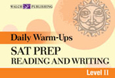 Daily Warm-Ups: SAT Prep, Reading and Writing, (Level II)