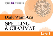Daily Warm-Ups: Spelling and Grammar (Level I)