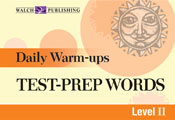 Daily Warm-Ups: Test-Prep Words Level II