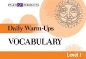 Daily Warm-Ups: Vocabulary (Level I)