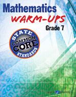 Mathematics Warm-Ups for CCSS: Grade 7