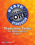 Transition Tasks for Common Core State Standards, Mathematics, Grade 7