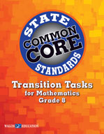 Transition Tasks for Common Core State Standards, Mathematics, Grade 8