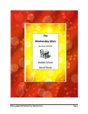 Middle School Novel Study (THE WEDNESDAY WARS)--Common Core Aligned