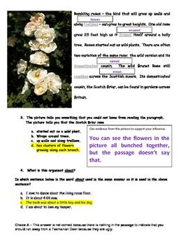 WEEK 14 8TH GRADE BELL RINGERS FOR READING & LA (FCAT PARCC COMMON CORE)