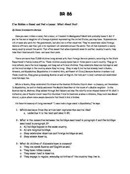 WEEK 18 8TH GRADE BELL RINGERS FOR READING & LA (FCAT PARCC COMMON CORE)