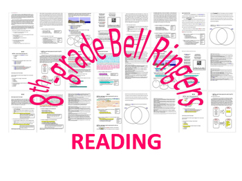 WEEK 18 8TH GRADE BELL RINGERS FOR READING & LA (FCAT PARCC COMMON CORE)