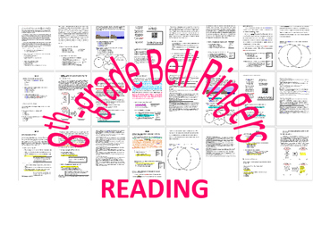 WEEK 19 8TH GRADE BELL RINGERS FOR READING & LA (FCAT PARCC COMMON CORE)