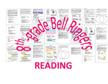 WEEK 19 8TH GRADE BELL RINGERS FOR READING & LA (FCAT PARC