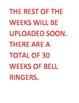 WEEK 2 8TH GRADE BELL RINGERS FOR READING & LA (FCAT PARCC