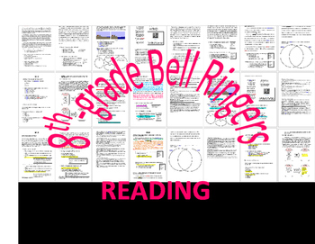 WEEK 20 8TH GRADE BELL RINGERS FOR READING & LA (FCAT PARCC COMMON CORE)