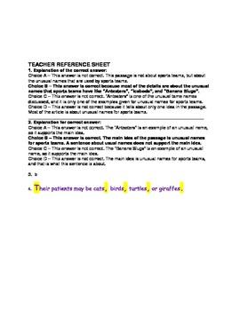 WEEK 6 8TH GRADE BELL RINGERS FOR READING & LA (FCAT PARCC COMMON CORE)