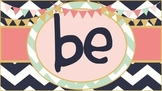 *FOREVER FREEBIE* Be You! Positive Traits Word Wall Set {Rustic}