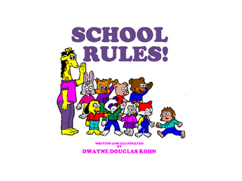 WEEKLY FREEBIE #105 - School Rules PowerPoint