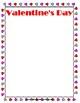WEEKLY FREEBIE #124: Valentine's Day List