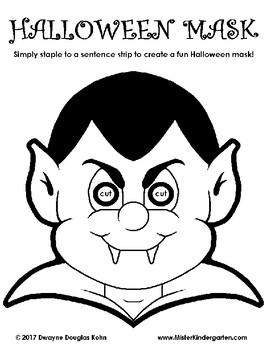 WEEKLY FREEBIE #131: Halloween Vampire Mask