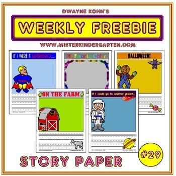WEEKLY FREEBIE #29: Story Paper