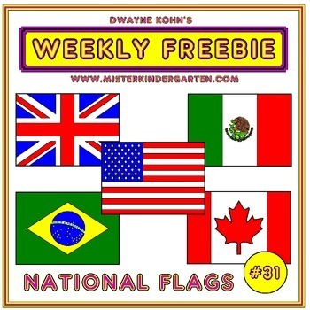 WEEKLY FREEBIE #31: Flags of the World
