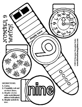 Number Watches