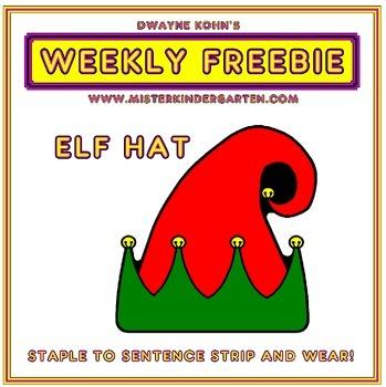 WEEKLY FREEBIE #46: Elf Hat