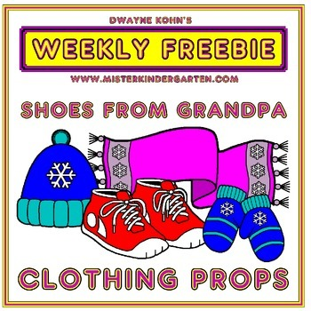WEEKLY FREEBIE #55: Shoes From Grandpa (by Mem Fox) - Clothing Props