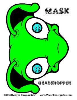 WEEKLY FREEBIE #56: Bug Masks