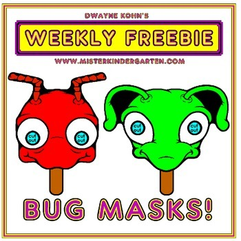 WEEKLY FREEBIE #56: Bug Masks