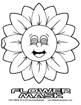 WEEKLY FREEBIE #57: Flower Mask