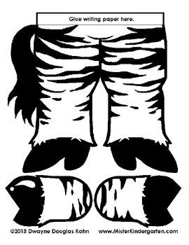 WEEKLY FREEBIE #58: Zebra Story Holder