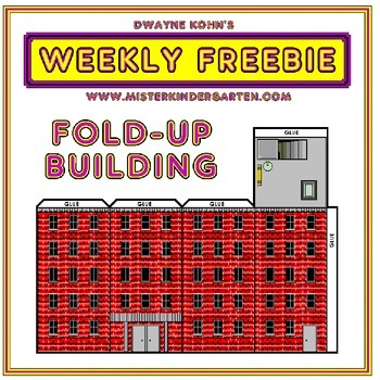 WEEKLY FREEBIE #62: Build a Building!