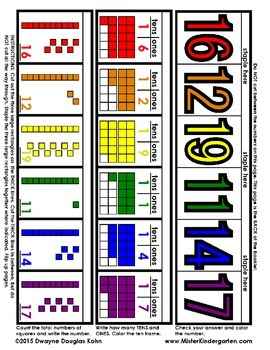 WEEKLY FREEBIE #63: Place Value - Tens and Ones - Flip Booklets